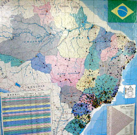 mapa do brasil completo presentation